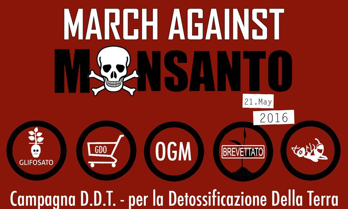 21 maggio march against monsanto